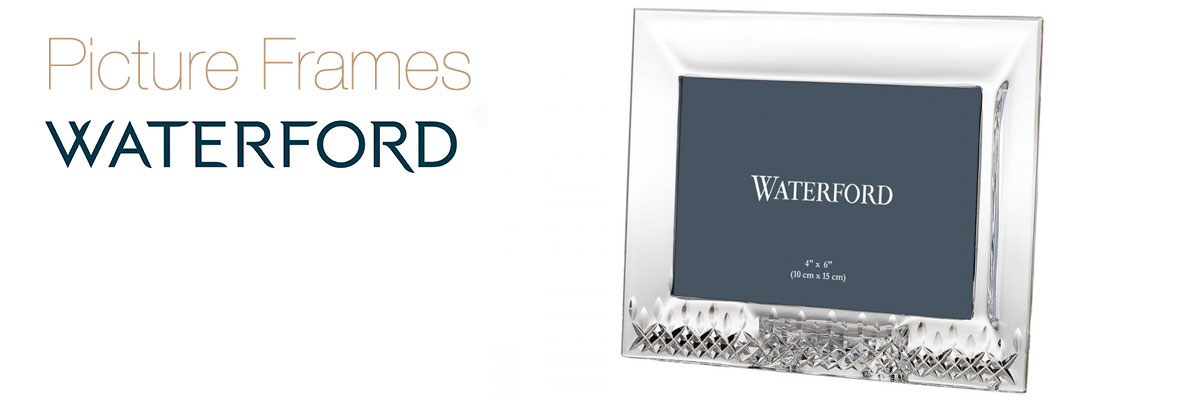 Waterford Crystal Frames Collection