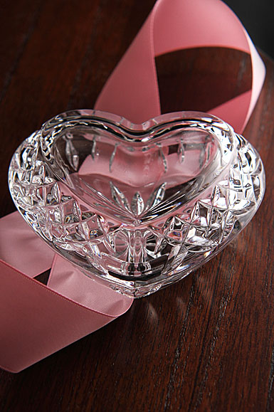 Waterford Crystal Giftology Heart Box