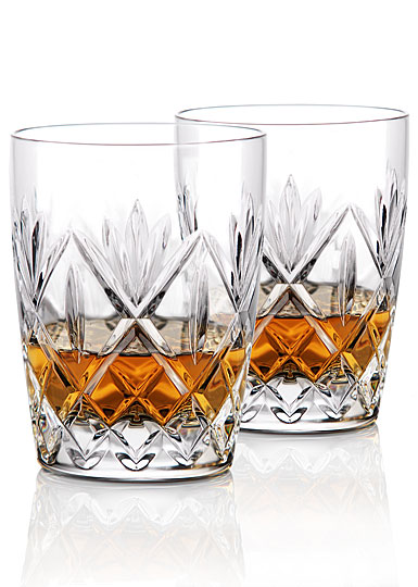 Waterford Crystal, Huntley Crystal DOF Tumblers, Pair