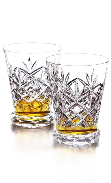 Waterford Crystal, Huntley Footed Whiskey Tasting Glasses, Pair
