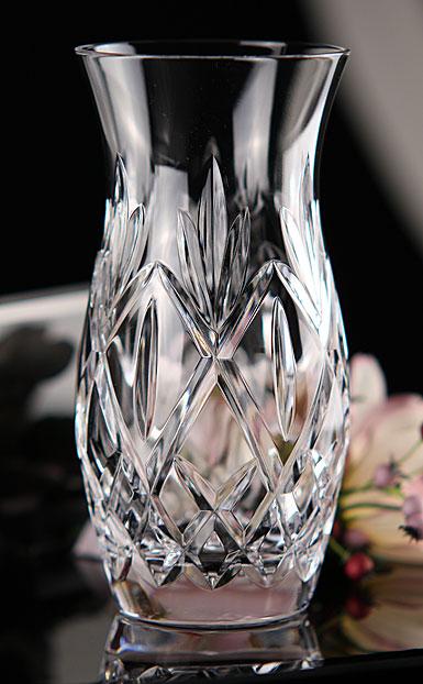 """Waterford Crystal, Huntley 6"""" Crystal Vase"""