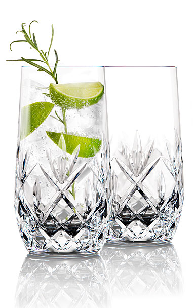 Waterford Crystal Gin Journeys Huntley Hiball Glasses, Pair