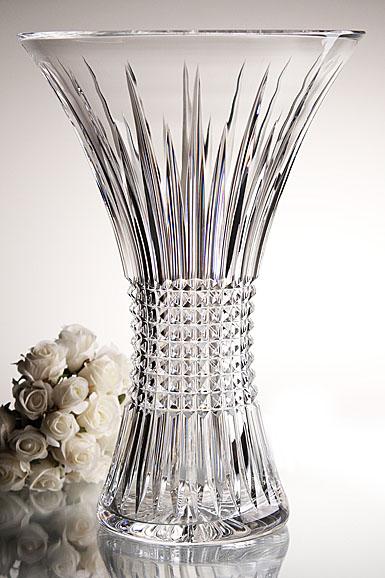Waterford Lismore Diamond 14 Vase