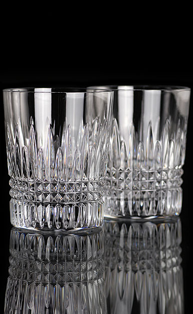 Waterford Crystal, Lismore Diamond DOF Tumblers, Pair