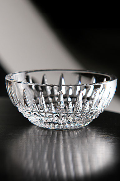 Waterford Crystal, Lismore Diamond Small Ring Crystal Bowl