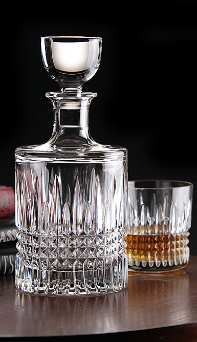 Waterford Crystal, Lismore Diamond Round Decanter