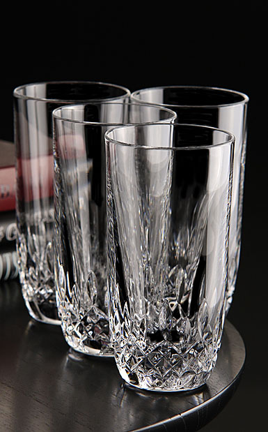 Waterford Crystal, Lismore Encore Crystal Hiball Tumbler, Set of 4