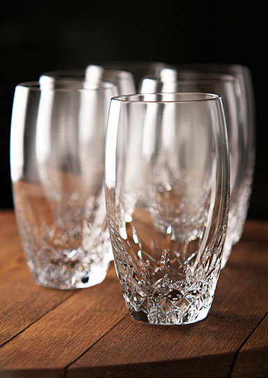 Waterford Crystal, Lismore Essence Crystal Hiball Tumbler, Boxed Set 5+1 Free