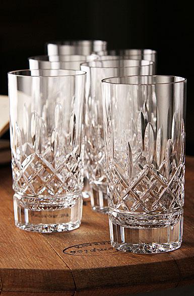 Waterford Crystal, Lismore Crystal Hiball Tumbler, Boxed Set 5+1 Free