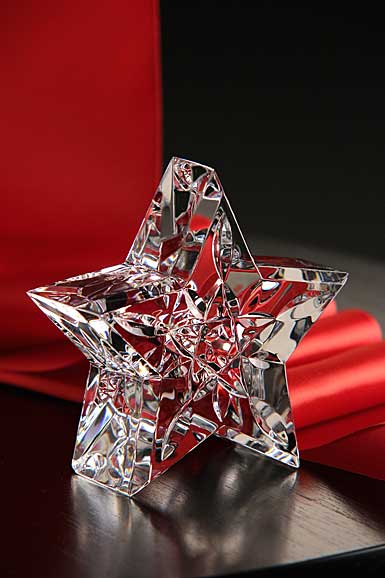 Waterford Crystal, Little Lismore Star Collectible Crystal Paperweight