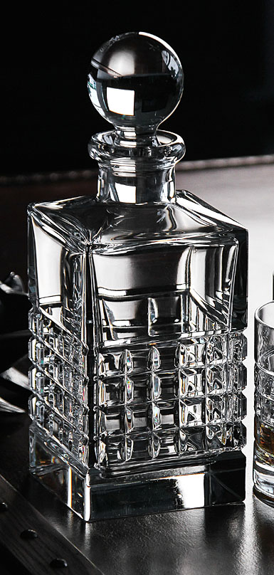 Waterford Crystal, Contemporary London Square Crystal Decanter, Clear
