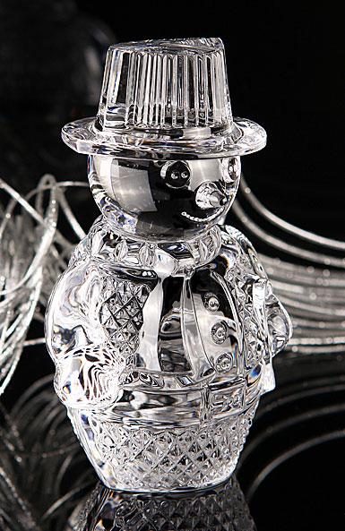 Waterford Crystal Snowman Sculpture