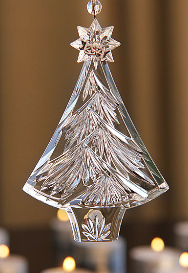 Waterford 2012 Annual Christmas Tree Ornament