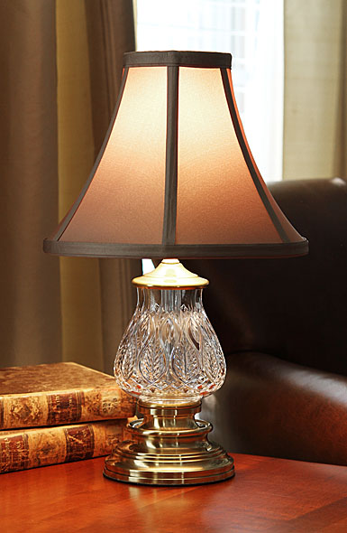 Waterford Blue Bell 16.25in accent lamp