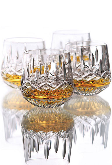 Waterford Lismore Roly Poly Glasses, Set of Four