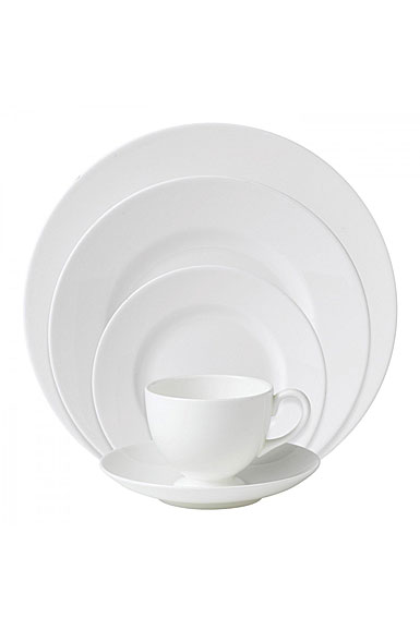 Wedgwood White 5-Piece Place Setting