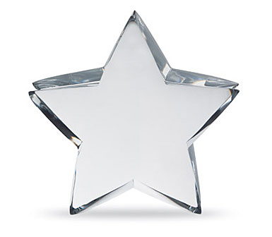 Baccarat Zinzin Star Clear, Large